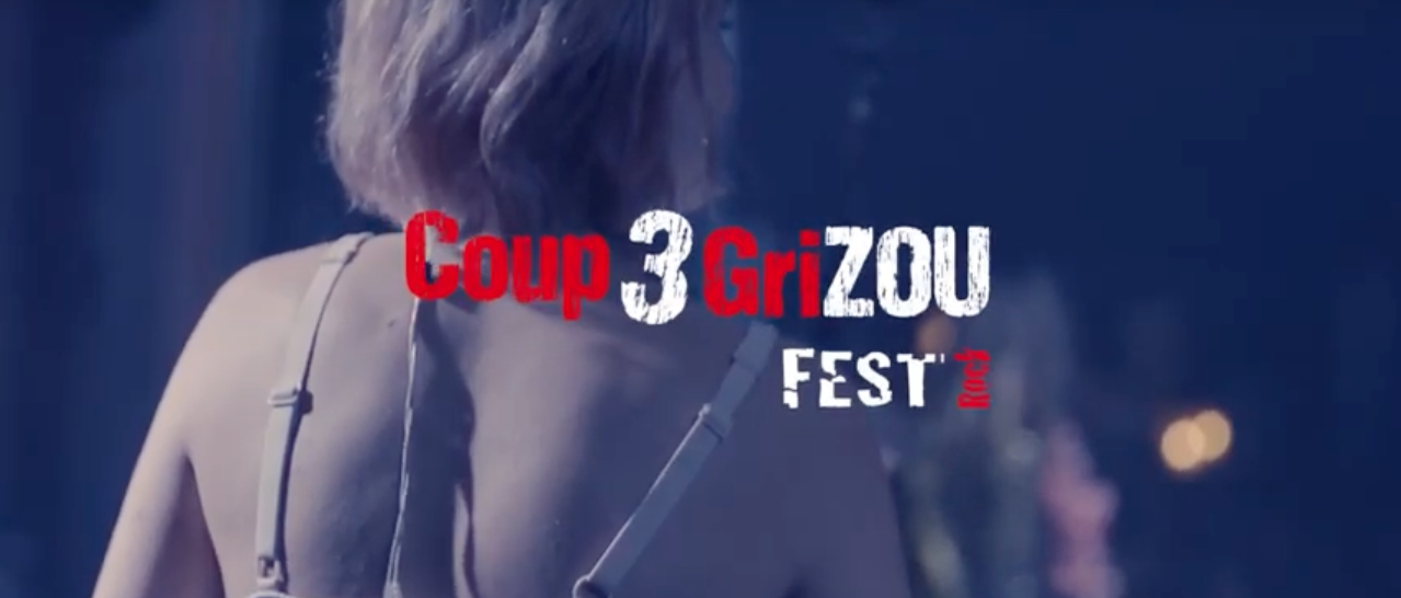 Teaser Coup de Grizou Fest #3 + Interview de l'association Hit by the Rock