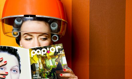 PAPIER BITTE – Odil lance son magazine in real life