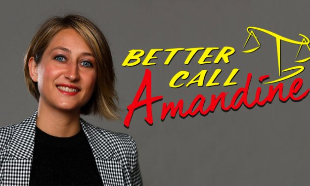 AVOCATE, ÉLUE ET PODCASTEUSE – Better Caul Amandine Ligerot